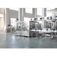 10000BPH 500ml Water Bottle Filling Machine for Glass Bottle / Water Packaging Plant