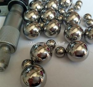 China AISI316/316L Stainless steel Balls 1.588mm-15.875mm on sale