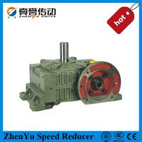 High Reduction Worm Wheel Gearbox Shaft Mounted Speed Reducer For Electric Motor
