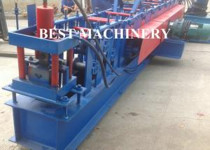 China Solar Rack Angle Shape Automatic Roll Forming Machine Stiffen Channel on sale