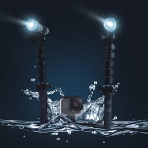 China Camera Handheld Stabilizer Shooting Kit With Diving Flashlights For GoPro 4 5 3 SJCAM SJ4000 Xiaomi Yi 4K Eken H9 on sale
