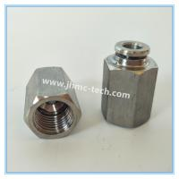 jinhan brand Stainless Steel Internal Thread Tube Connectors