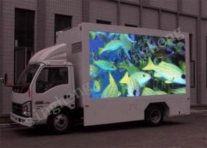 China Stable Mobile Advertising Signs , P4 Truck Mobile Led Display For Concerts on sale