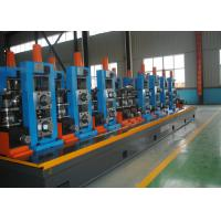 China Straight Seam Mild Steel Small Pipe Making Machine ERW High Frequency on sale