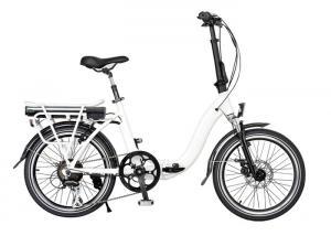 China Waterproof 250W Foldable High Performance Adult Electric Bike On Rear Rack on sale