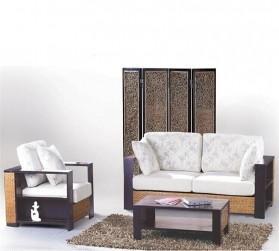Rattan + Seagrass Sofa Series 40