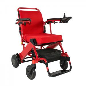 China Portable Light Weight Handicapped Folding Electric Power Wheelchair on sale
