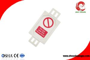 China Plastic Lockout Scaffolding Tagout with insert card suitable for PAT testing on sale