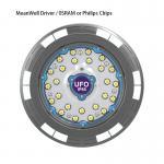 Industrial Aluminum Ip65 150w High Bay Lighting Supplier HousingLedHighBayLight CE Rohs
