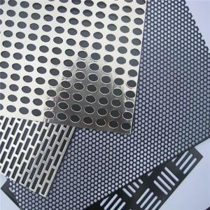 China 1mm hole  hexagonal sheet aluminum perforated metal mesh speaker grille sheet on sale
