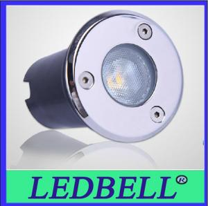 China 1W IP67 Led Inground Light , Underground Led Lamps For Garden , Lawn on sale