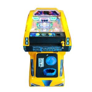 China Coin Operated Arcade Pinball Machine , Marbles Shooting Home Pinball Machine For Kids on sale