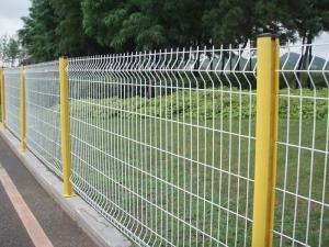 China Fence welded wire mesh fence / PVC coated wire fence panels/ powder coated wire fence panel in Europe standard on sale