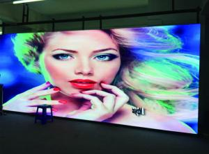 China Thin 1/ 8 Scan P3.9 Outdoor Rental LED Display rgb 500x500mm Die - Casting Aluminum on sale
