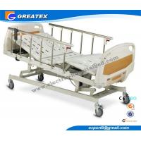 Lifting Home Care Semi Automatic hospital Bed , Intensive Care Beds For Disable