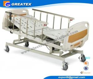 China Lifting Home Care Semi Automatic hospital Bed , Intensive Care Beds For Disable on sale