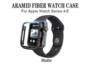 China Black Lightweight Matte Anti Fall Aramid Fiber Watch Case on sale