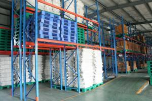 China Warehouse cold rolled steel Pallet Racks with spraying , 800KG - 5000KG on sale