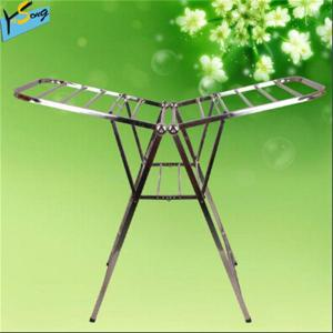 China High quality heavy duty stainless steel clothes drying hanger rack on sale