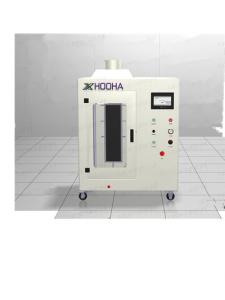 China ASTM D6413 Textile Flammability Testing Vertical Flame Spread Machine With Digital Display on sale