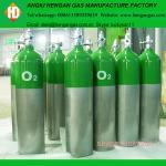 cylindre oxygène-gaz à haute pression