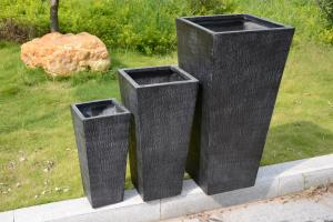 China Factory Hot sales light weight waterproof durable outdoor square pot planter on sale