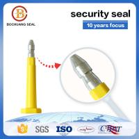 China high security Q235A steel container bolt seal with plastic B302 for Container Truck Train Tanker on sale