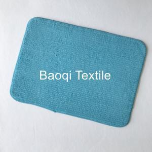 China Microfiber memory foam bath mat,dry water microfiber bath mat ,washable mats ,microfiber floor mat on sale