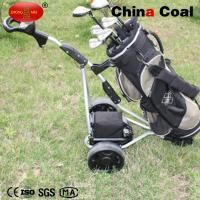 Foldable Electric remote control hand push 3wheels golf bag trolley YM150-B