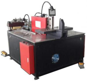 China Three In One Copper Bar Cutting Bending Punching Machine PLC Control For Copper Bar on sale