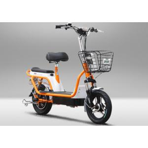 China Two Wheel Electric Bike Pedal Assist Electric Bicycle , 48V 12Ah Lead Acid Battery on sale