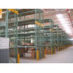 China Green Heavy Duty Pallet Racking System , Industrial Steel Storage Racks wholesale