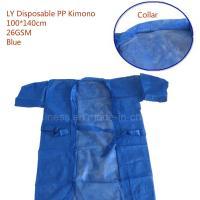 Ly PP/SMS Disposable Sauna Suit, Bath Kimono