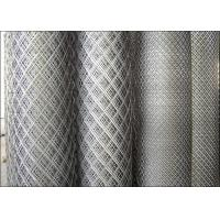 China Stainless Steel Expanded Mesh / Expanded Wire Mesh With 1.2m Width Size on sale