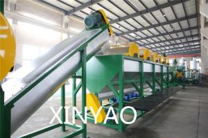 China Auto Waste Plastic Recycling Line / Plastic Film Washing Machine on sale