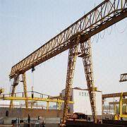 China single beam gantry crane on rails on sale