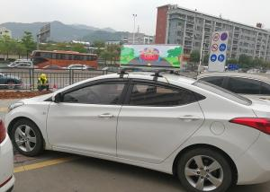 China CE Certificate P3.33 High Definition Taxi Top Led Display Waterproof and Weatherproof on sale