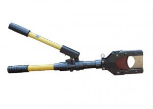China Aluminium Alloy Manual Hydraulic Wire Rope Cutter for Cutting on sale