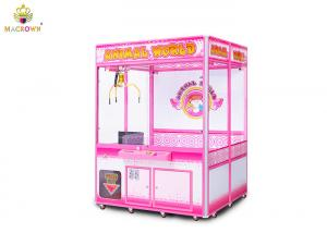 China Big Size Coin Operated Crawn Game Machine Animal World Big Toy Crane Machine on sale