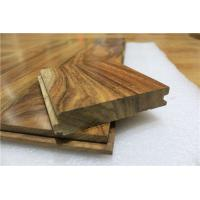 "5"" width natural acacia hardwood flooring to US market"
