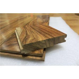 China 5 width natural acacia hardwood flooring to US market on sale