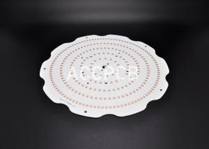 China HAL Lead Free LED Light PCB Board  High Lumen Wear Resistance 1.6mm Thickness on sale