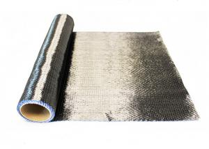 China High Modulus CFRP Carbon Fiber , Carbon Fiber Cloth Roll For Oil Pipe Strengthening on sale
