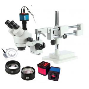 China High Resolution Trinocular Stereo Industrial Microscope with 14MP HDMI HD Camera on sale