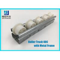 China Slider Roller Track Type 40C Width 40mm Metal Frame for Conveyors and Flow Rack on sale