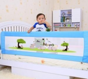 Adjustable Cartoon Mesh Toddler Bed Rail For Queen Safe Sleeper