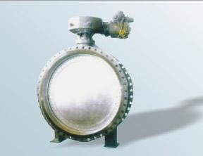 China Worm wheel expansion metal seal butterfly valve on sale