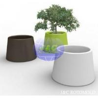 Plastic LLDPE Garden Tree Rotomolded Planters , Rotational Moulding Products