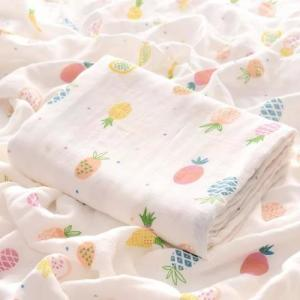 China Breathable Solid Color Swaddle Blankets Multiple Use For Unisex Babies on sale