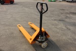 China Low Profile Electric Pallet Jack With Brake System Rough Terrain Truck on sale